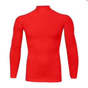 5054d3174 Camisa Gola Alta Manga Longa Masculina Segunda Pele - Calçados ...