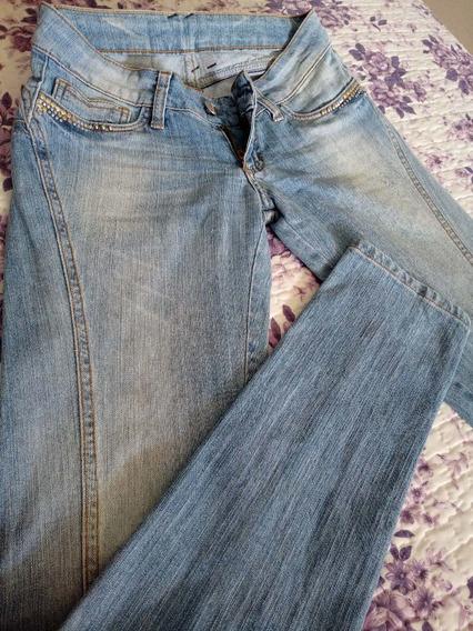 Calça Jeans Sawary Empina Bumbum Tamanho 36