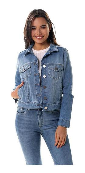 Campera Rusty Haze Denim Jacket Mujer