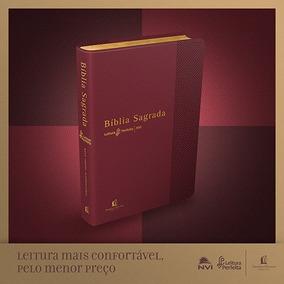 Bíblia Nvi Leitura Perfeita Média Vermelha