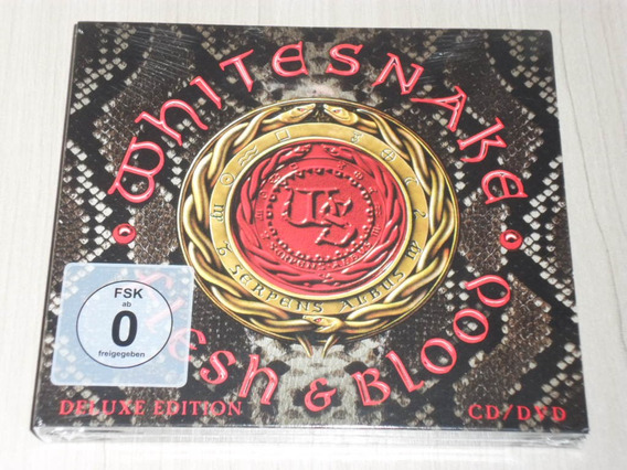 Box Whitesnake - Flesh & Blood 2019 (europeu + Bônus + Dvd)