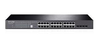 Switch Tp-link T1500-28pct (tl-sl2428p) 24p 100 4p Giga Poe