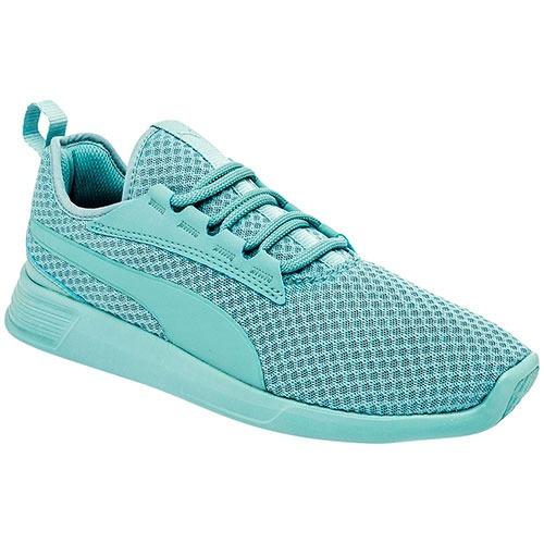 zapatos tenis de mujer puma verde