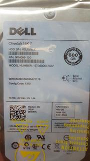 Disco Duro 600 15k Seagate Cheeta Dell