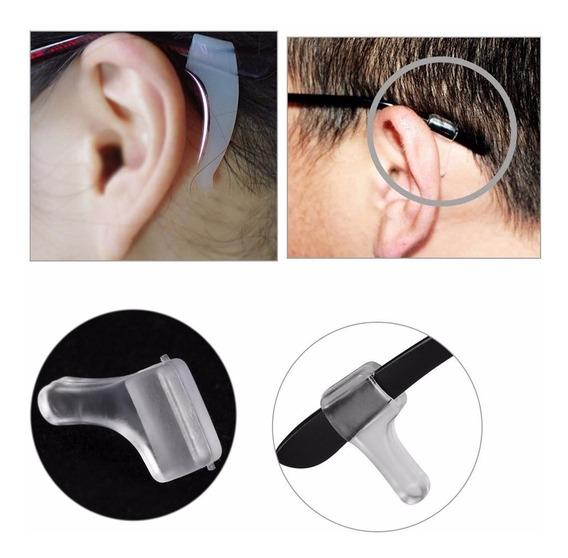 5 Pares Seguros Antideslizantes De Gel Lentes Gafas