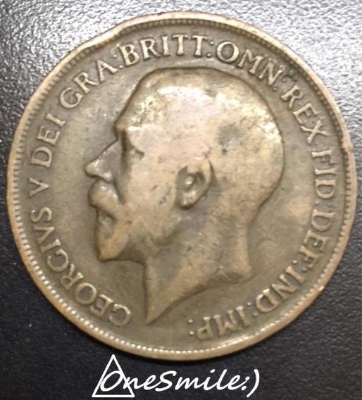 Onesmile:) Moneda De Gran Bretaña One Penny 1915