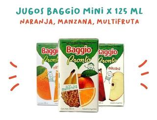 Jugos Baggio 125ml X18 Unidades Fiestissima Liniers