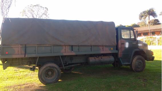 Mercedes-benz 1418 Mb La 4x4 Traçado/reduz Proced Exército