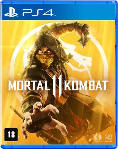 Mortal Kombat 11 Ps4 Mídia Digital Português