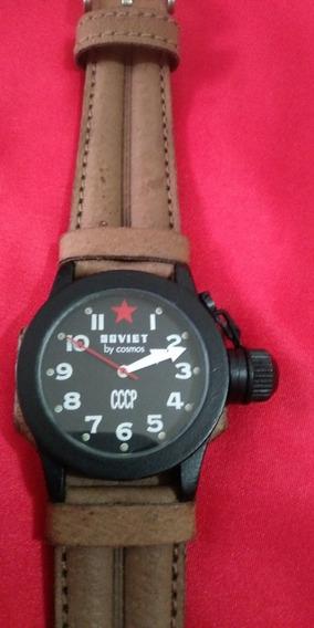 Relógio Cosmos Soviet Muito Bonito Em Excelente Estado !