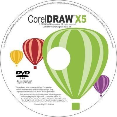Cd Instalação C©rel Draw Graphics Suite X5 - 32 E 64 Bits
