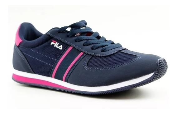 Tênis Fila Feminino Retro Sport 744922 Preto Pink