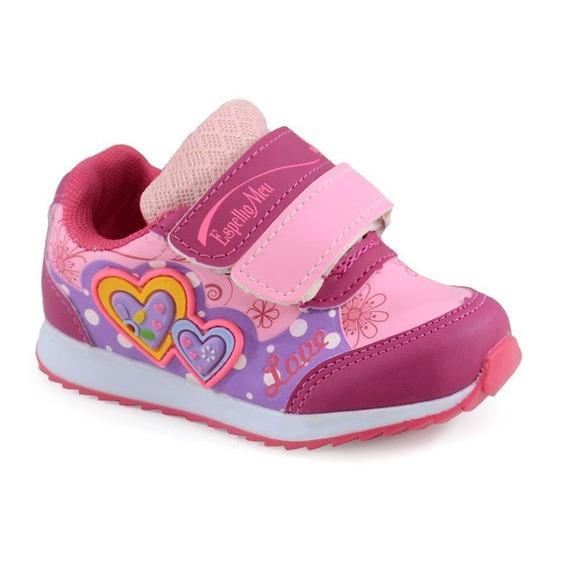 Tênis Infantil Botinho Pink Rosa - 796ea-01