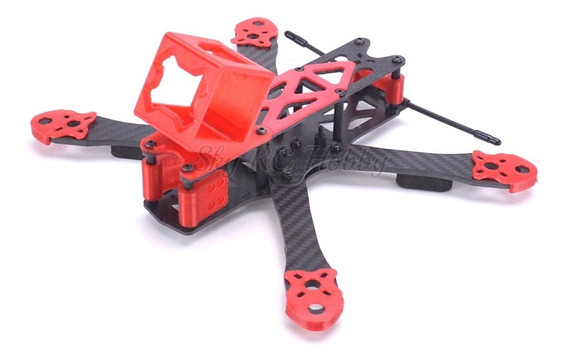Frame Drone Racer Freestyle 225 Mm + Suporte Gopro Top