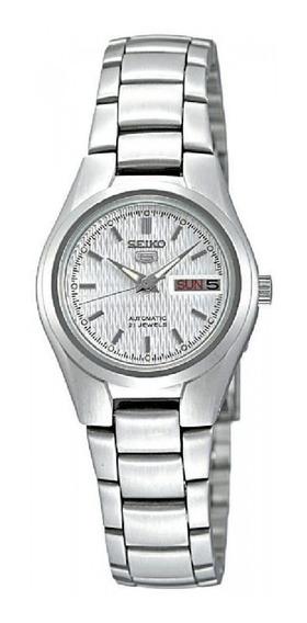 Relógio Feminino Seiko 5 Automático 21 Jewels Symc07b1 B1sx