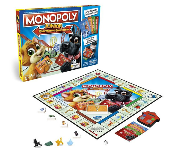Juego Monopoly Junior Electronic