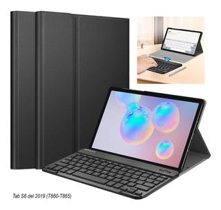 Case © Teclado Bt Galaxy Tab S6 S5e S4 A 10.1 T510 10.5 T590