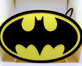 Luz Batman Logo-dc Comics-purpura Funnyland