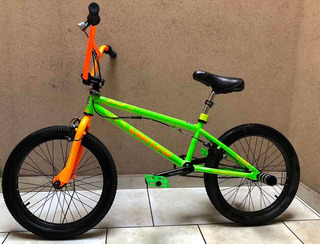 Bicicleta Venzo Cube Bmx R20 Freestyle Rotor 360 Pegs