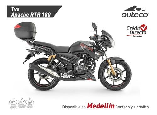 Tvs Apache 180 2v Modelo 2022 - Crédito Directo -