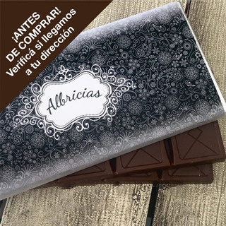 Tableta Artesanal Albricias 130 Grs. Chocolate Semiamargo