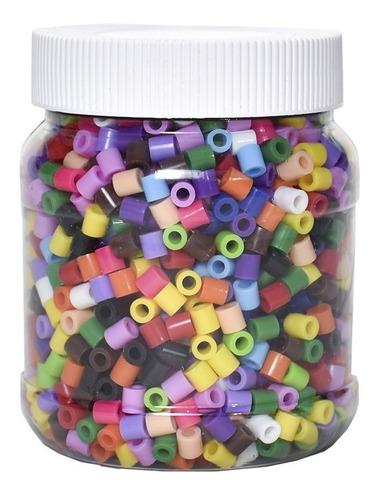 Imagen 1 de 4 de Bote Con 2000pz Perler Hama Beads Tu Elijes Los Colores
