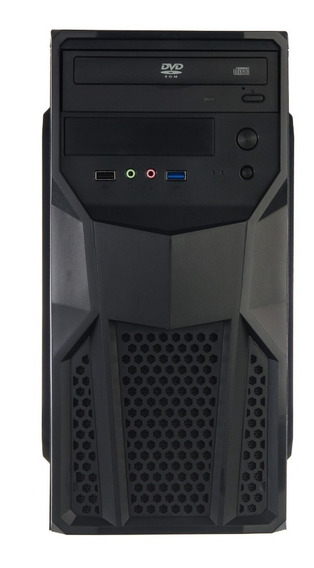 Cpu Nova Intel Core 2 Duo 4gb Hd 500gb + Windows 7 E Office