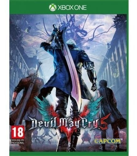 Jogo Devil May Cry 5 - Xbox One Mídia Física Usado