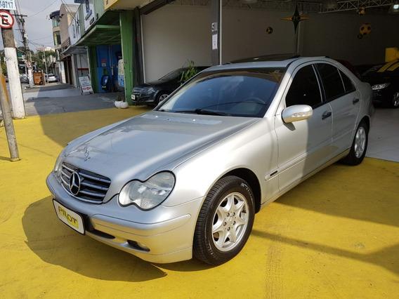 Mercedes-benz Classe C 180 Automática 2002 Impecável