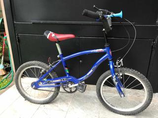 Bicicleta Niño Rodado 16 Impecable