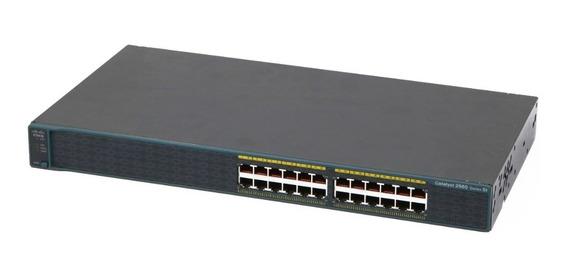 Switch Cisco 2960 Series - Ws-c2960-24-s V02 24p 10/100