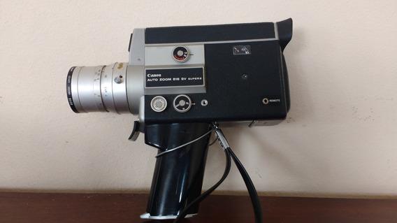 Filmadoras Super 8 (lote Com 8 - Diversas Marcas E Modelos)