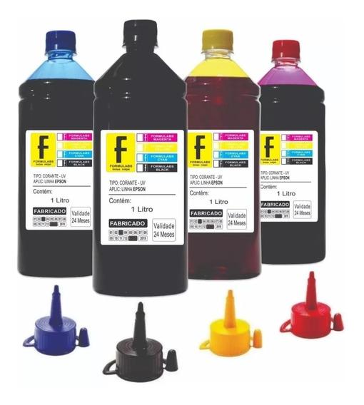4 Litros Para Impressora Tx135 Tx133 -formulabs