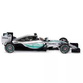 Miniatura F1 Mercedes W06 Hamilton Campeão Minichamps 1:43