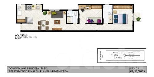 Imagem 1 de 14 de Apto Novo, 2 Dormitórios, 1 Suíte, Baixo Condomínio Em Santo - 1033-8868
