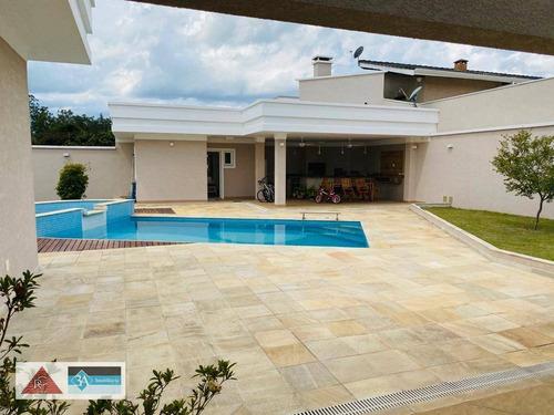 Casa Com 4 Dormitórios À Venda, 450 M² Por R$ 2.500.000 - Retiro Recanto Tranquilo - Atibaia/sp - Ca0473