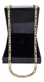 Corrente Cordão Grumet 3x1 16 Gramas 65cm Ouro 18k 750