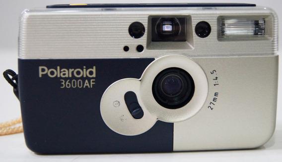 Câmera Fotográfica Polaroid 3600af Analógica Com Case