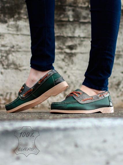 Zapatos Mocasín Cuero Para Damas Calzado Colombiano