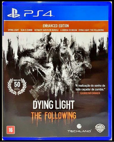 Dying Light The Fallowing Edition Ps4 Mídia Física + Brinde