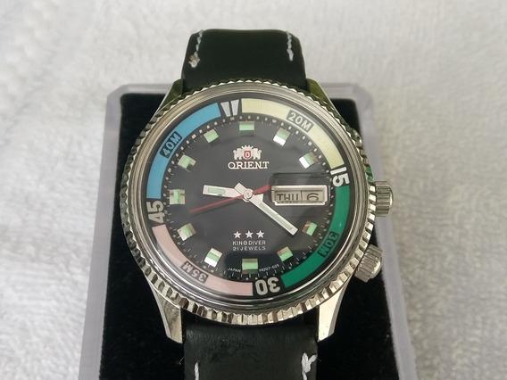 Reloj Orient King Diver Automatico 21 Joyas Jumbo Vintage