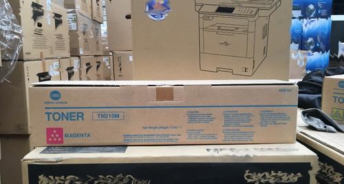 Imagen 1 de 6 de Tn210m Cartucho De Toner Magenta Para Uso En Konica C252