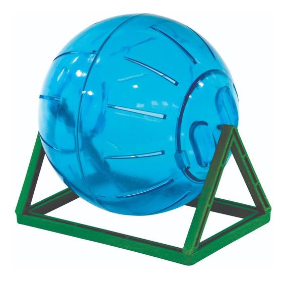 Bola Brinquedo Roedores Globo Hamster 11,5 Cm Multicolorido