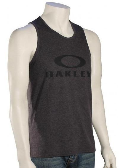 Playera Oakley Bark Tank Logo Verano Hombre Sin Mangas