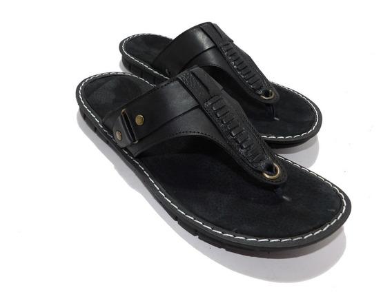 Ojotas De Cuero Hombre -calzados Union- Art 812