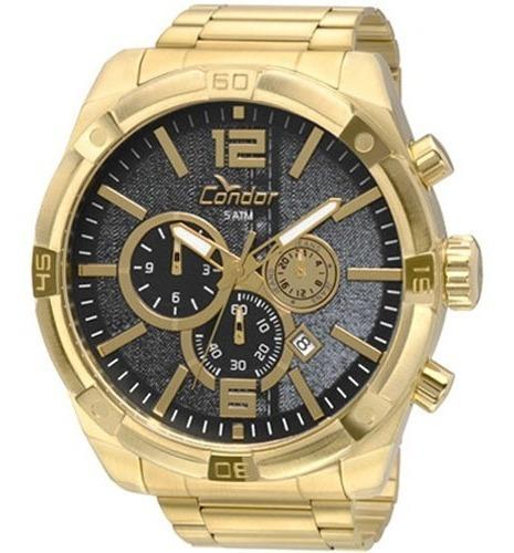 Relógio Masculino Condor Covd33ah/4p Dourado
