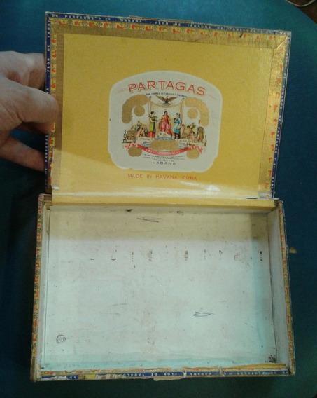 Caja Habano Cigarro Cigarrillo Partagas Habana Tabaco