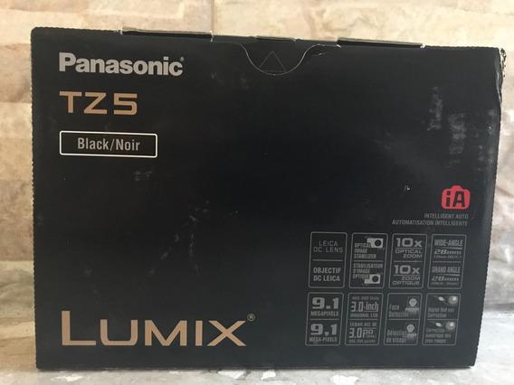 Câmera Fotográfica Digital Panasonic Tz5 (black)