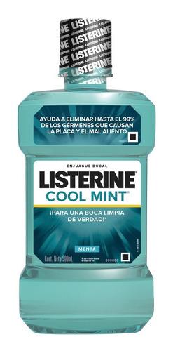Listerine Cool Mint  24hs Lleve 500ml Pague 350ml