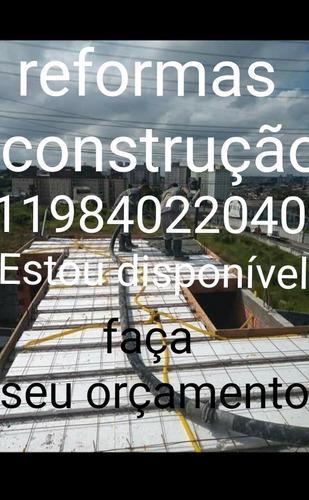 Imagem 1 de 5 de Serviços De Pedreiro Reforma É Construção 11984022040